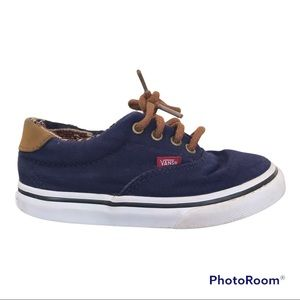 Vans Off the Wall Canvas Sneakers For Little Boys